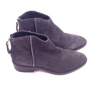 Dolce vita gray suede booties size 7